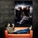 Luis Royo Hot Girl Orc Cemetery Dark Fantasy Art Huge 47x35 Print Poster