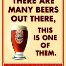Newcastle Brown Ale Cool Beer Advertising 32x24 Print Poster