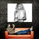 Kate Upton Hot Model Sexy BW Huge 47x35 Print Poster