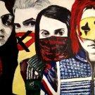 My Chemical Romance Painting Art Vintage 16x12 Print Poster