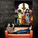 Avatar The Last Airbender Anime Manga Art Huge 47x35 Print POSTER