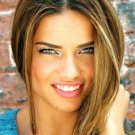 Adriana Lima Cute Smile Lips Portrait Model 32x24 Print Poster