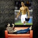 Cristiano Ronaldo Shirtless Real Madrid Huge 47x35 Print Poster