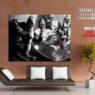 Batman Arkham City Villains Art Huge Giant Print Poster
