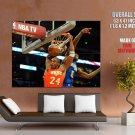 Kobe Bryant Dunk Lebron All Star Game Huge Giant Print Poster