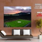 Nou Camp Stadium Fc Barcelona Football Huge Giant Print Poster