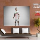 Cristiano Ronaldo Football Sport Real Madrid Huge Giant Print Poster