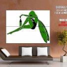 Absinthe Fairy Green Art Huge Giant Print Poster