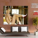 Carmen Electra Sexy Topless Hot Model HUGE GIANT Print Poster
