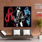 Ac Dc Band Art Hard Rock Music Huge Giant Print Poster