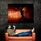 Nine Inch Nails Live Silhouette Music Huge 47x35 Print POSTER
