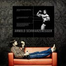 Arnold Schwarzenegger Mr Olympia Muscles Huge 47x35 Print POSTER