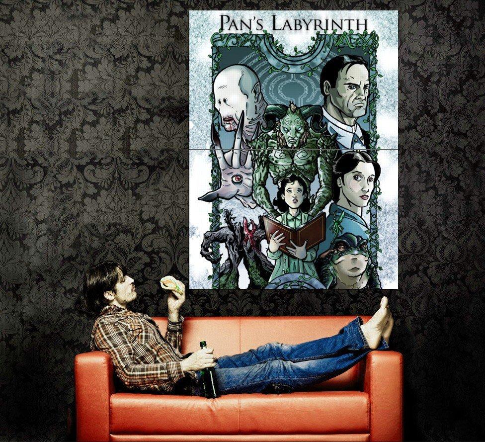 Pan S Labyrinth Dark Fantasy Characters Art Huge 47x35 Print POSTER