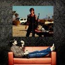 Sarah Connor Terminator 2 Judgment Day Linda Hamilton Huge 47x35 POSTER