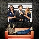 Californication Hank Moody David Duchovny Cop Girls Huge 47x35 POSTER