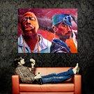 2pac Hip Hop Music Singer Painting Art Huge 47x35 Print Poster