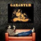Gangster Vault Boy Fallout Art Huge 47x35 Print Poster