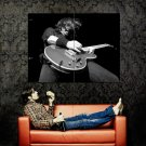 Dave Grohl Foo Fighters BW Huge 47x35 Print Poster
