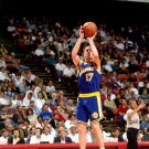 Chris Mullin Jump Shot Warriors NBA 32x24 Print POSTER