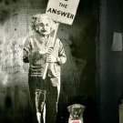 Love Is The Answer Albert Einstein Banksy Art 16x12 Print POSTER