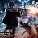 Call Of Duty Zombies Video Game 16x12 Print Poster