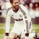 Sergio Ramos Real Madrid Football 16x12 Print Poster