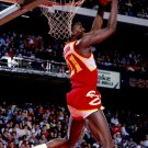 Dominique Wilkins Dunk Atlanta Hawks NBA Basketball 24x18 POSTER