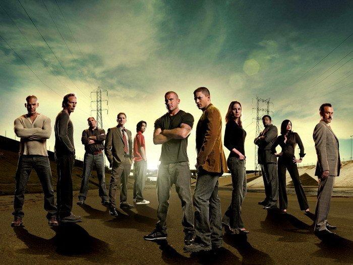 Prison Break Lincoln Burrows Michael Scofield Cast TV Series 24x18 POSTER
