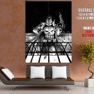 The Punisher Uzi Grenades Marvel Comic Art Huge Giant Print Poster