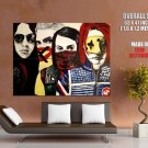 My Chemical Romance Painting Art Vintage HUGE GIANT Print Poster