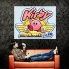 Kirby Super Star Ultra Video Game Huge 47x35 Print POSTER