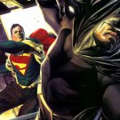 Superman Vs Batman Punch Blood Comics Art 32x24 Print POSTER