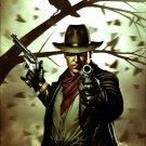 The Dark Tower Gunslinger Stephen King Art 32x24 Print POSTER