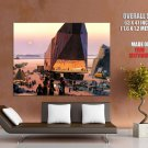 Sandcrawler Tatooine Star Wars Painting Art Sci Fi Huge Giant Print Poster