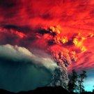 Volcano Eruption Ash Cloud Nature 32x24 Print POSTER