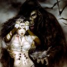 Luis Royo Hot Girl Monster Gift Dark Fantasy Art 16x12 Print Poster