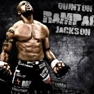 Quinton Rampage Jackson MMA Mixed Martial Arts 32x24 POSTER