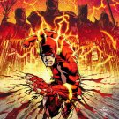 Flash Marvel Comic Art 24x18 Print Poster