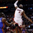 Lebron James Dunk Miami Heat NBA 32x24 Print Poster