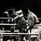 Muhammad Ali Boxing BW Punch 16x12 Print POSTER