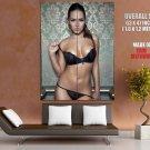 Sabine Jemeljanova Sexy Lingerie Hot Model HUGE GIANT Print Poster
