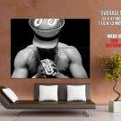 Ll Cool J Bw Hip Hop Rapper Huge Giant Print Poster