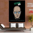 Breaking Bad Walter Art Tv Series Huge Giant Print Poster