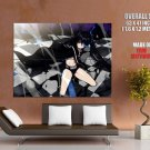 Black Rock Shooter Hot Anime Manga Art Huge Giant Print Poster