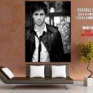 Enrique Iglesias Bw Hot Singer Huge Giant Print Poster