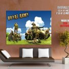 Battlefield Heroes Royal Army Huge Giant Print Poster