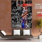Blake Griffin Monster Dunk Timofey Mozgov Nba Basketball Huge Giant Poster