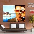 Burn Notice Michael Fiona Gabrielle Anwar Tv Series Huge Giant Print Poster