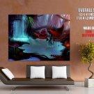 Avatar Na Vi Waterfall Beautiful Art GIANT 63x47 Print Poster