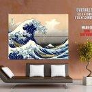 The Great Wave Off Kanagawa Katsushika Hokusai Fine Art Huge Giant Poster